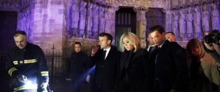 Пожар в Нотр-Дам: Макрон заявил, что новый собор будет ещё «красивее»