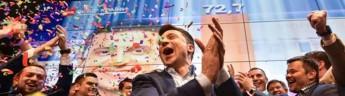 Выборы в Украине: комик Зеленский выигрывает президентский пост