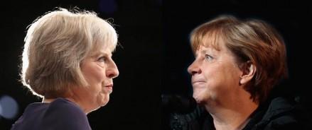 Brexit: Тереза Мэй встречается с Эммануэлем Макроном и Ангелой Меркель