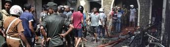 Шри-Ланка: число погибших достигло 290 человек