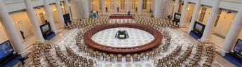 Президентской библиотеке пожелали творческой неуспокоенности и любознательных посетителей