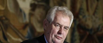 Президент Чехии высказался о строительстве «Северного потока-2»