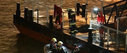 Венгрия: семь погибших после аварии с прогулочным катером в Будапеште