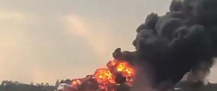 Крушение российского самолета: 41 человек погиб