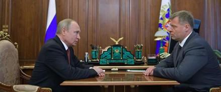 Путин принял отставку астраханского губернатора