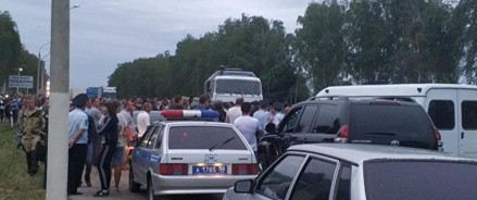Ситуация в селе Чемодановка под контролем полномочного представителя президента