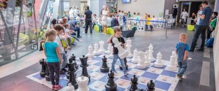 Международный день шахмат отметили в парке «Зарядье»