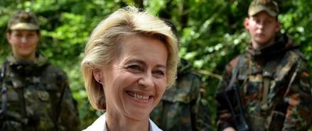 Министр обороны Германии фон дер Ляйен объявляет об отставке