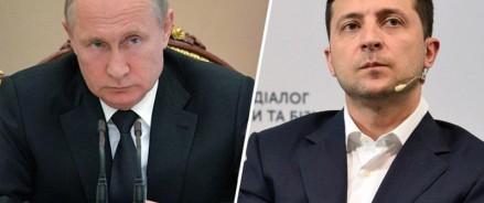О чем говорили Путин и Зеленский по телефону