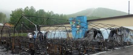 Причины пожара в детском лагере под Хабаровском до сих пор устанавливаются