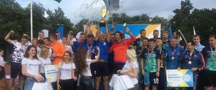 В Лужниках прошла Спартакиада с призовым фондом 2,5 миллиона