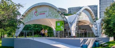 В Московских парках открылись веранды здоровья
