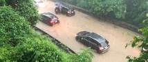 Внезапное наводнение в Вашингтоне