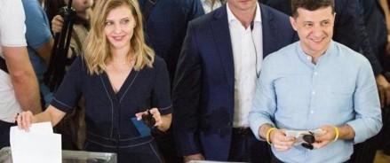 Выборы в Украине: партия Зеленского одерживает победу