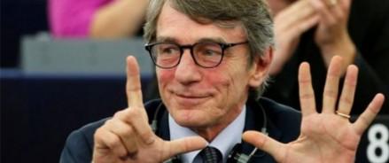 Депутаты избирают Давида Сассоли новым президентом Европейского парламента