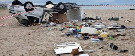 Шторм в Греции: в Халкидики погибло шесть туристов