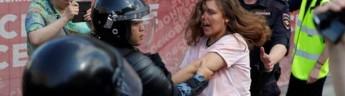 Россия протестует: тысячи участников на митинге в Москве