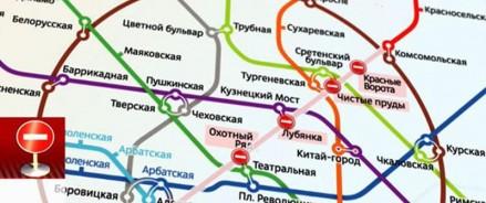В связи с закрытием участка Сокольнической линии метро будут курсировать бесплатные автобусы