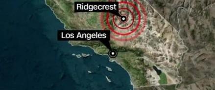 Землетрясения в Калифорнии