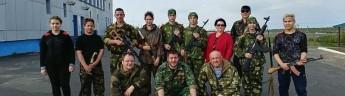 Фонд «Полярный лис» провел первую в Заполярье военно-спортивную игру «Зарница»