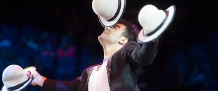 Азербайджанский жонглёр покоряет Сибирь