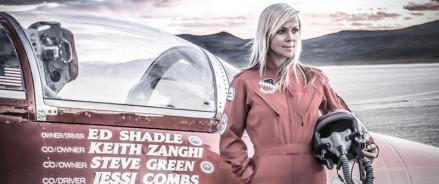 Разбилась «самая быстрая женщина» планеты Джесси Комбс