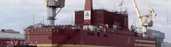 Российская плавучая АЭС «Академик Ломоносов» отправится в плавание через Арктику