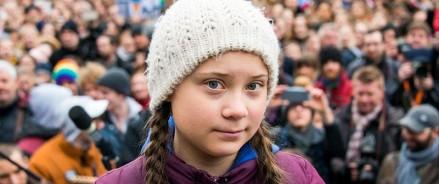 Школьница — активистка Грета Тунберг прибыла в Нью-Йорк