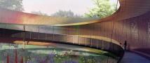 На ВДНХ строят ландшафтный аттракцион «Лента Мебиуса»