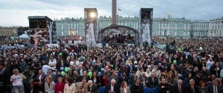 14.09.2019 — открытие кинофестиваля «Послание к человеку» на Дворцовой