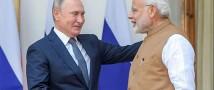 Путин и Моди обсудили двухсторонние соглашения во Владивостоке