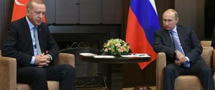 О чем договорились Путин и Эрдоган в Сочи