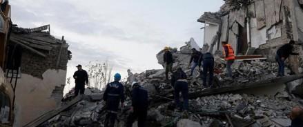 Албания: мощное землетрясение силой 6,4 балла произошло в Тиране