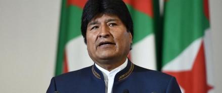 Президент Боливии Эво Моралес подал в отставку на фоне протестов в стране