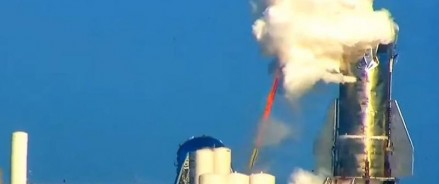 Прототип ракеты Starship Mk1 Илона Маска взорвался на испытании