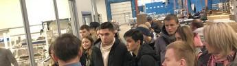 Активисты ОНФ в рамках проекта «Профстажировка 2.0» организовали экскурсию на территории Мосгормаш