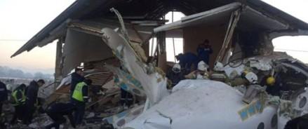 Авиакатастрофа пассажирского самолета в Казахстане