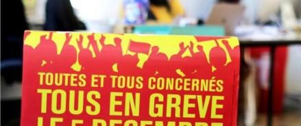 Франция готовится к забастовкам против пенсионной реформы Макрона
