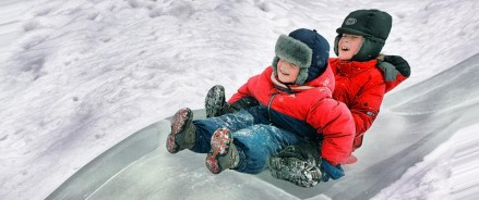 Где покататься на снежных горках в Москве