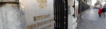 Германия высылает двух российских дипломатов