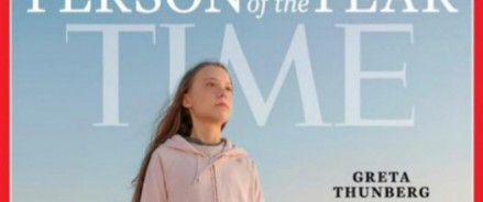 Грета Тунберг названа журналом Time «Человеком года»