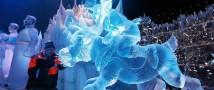 На Поклонной горе пройдет выставка ледяных скульптур