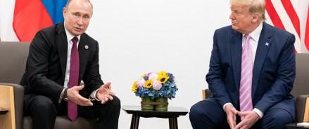 Путин благодарит Трампа за информацию, которая помогла предотвратить теракты в России по телефону