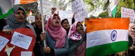 В Индии проходят протесты по поводу закона о гражданстве