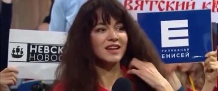 Журналистку уволили за вопрос Владимиру Путину на пресс-конференции