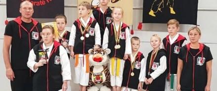 Юные московские каратисты показали высокий класс на международном турнире «Путь тигра» в Каунасе