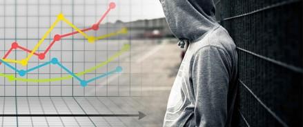 Доходы населения сокращаются: опубликованы результаты восьмого рейтинга криминогенности
