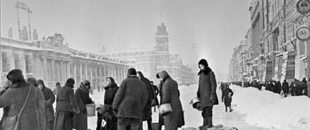 Герои блокады Ленинграда оживут на крупнейших фасадах страны