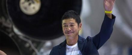 Японский миллиардер ищет «спутницу жизни» для путешествия на Луну