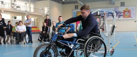 В Петербурге достроят спорткомплекс для людей с ограниченными возможностями